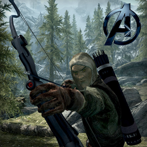 Skyrim - The Avengers Hawkeye Quiver and Arrows - Оружие и ...